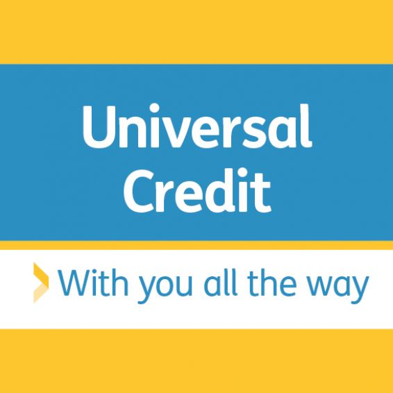 Universal Credit - with you all of the way